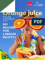 CIR Orange Juice Study Low Sp