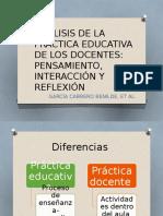 Análisis de La Practica Educativa de Los Docentes-2