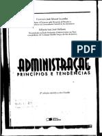 Administração_príncipios e Tendências - o Administrador