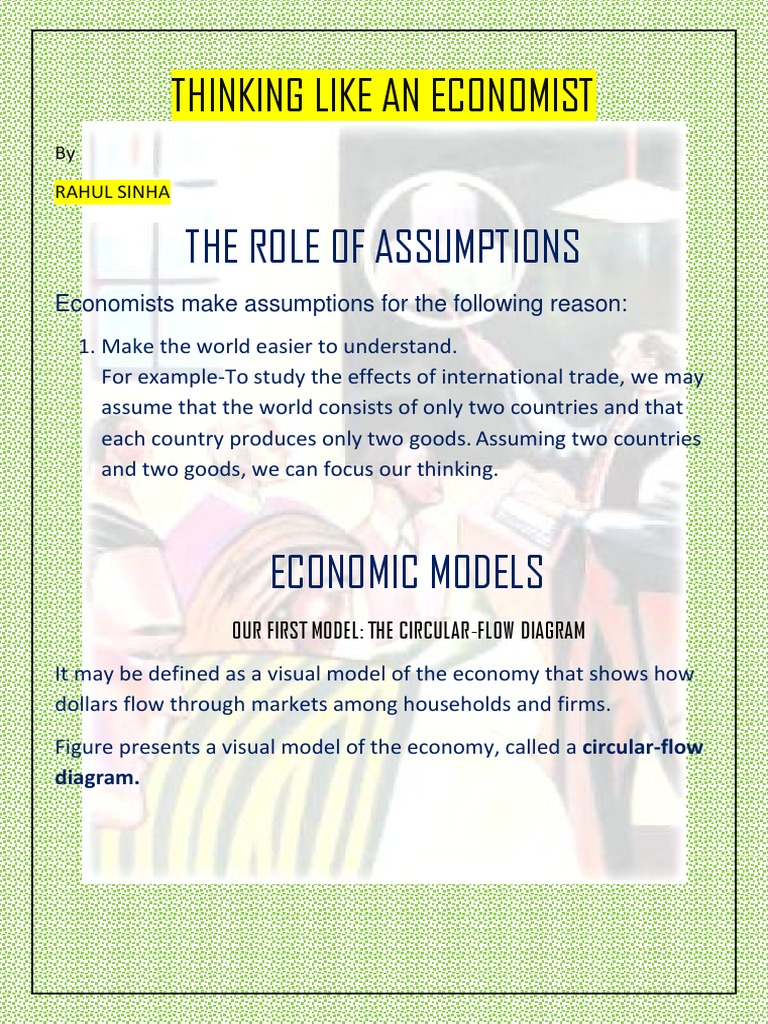 Thinking like an economist chapter 2 macroeconomics economics pooptronica