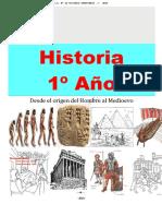 Cuadernillo de 1° Historia (2015)