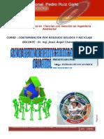 Manejo de Residuos Solidos Hospitalarios Mblgo Erick Estrada Huancas