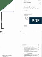 5. Panebianco_Modelos de Partido