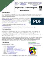 Rubik Solution (3x3x3)