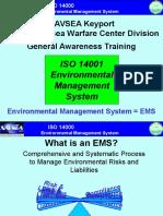 Training EMS