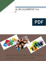 Ley General de La Juventud (49-00) - José Gabriel
