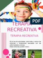 TERAPIA RECREATIVA