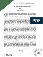 Quispel1965 Gnosticism and the New Testament