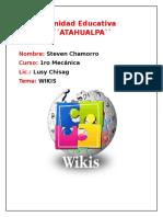 Informe Sobre WIKIS U.E.A