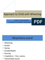 Approach to Child With Wheezing