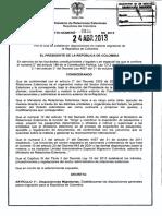 Decreto 834 Del 24 de Abril de 20131