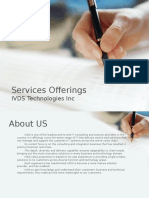 Services Offerings