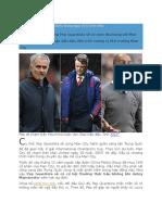 Về Man City Pep Guardiola Đụng Ngay M