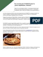Italie cherche à être reconnu de l'UNESCO pour la préparation de la pizza napolitaine | Reuters