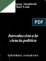 IntroducciIntroducción a la Ciencia Políticaón a La Ciencia Política