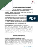 Apostila de Desenho Técnico Mecânico (PDF )