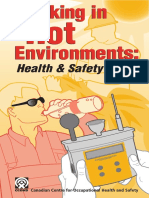 Working in Hot Environments (Health & Safety Guide), First Edition