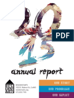 Resident Arts' 2015 Annual Report