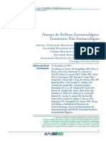Doenca Do Refluxo Gastroesofagico-tratamento Nao-farmacologico