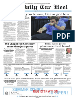 The Daily Tar Heel for March 22, 2016