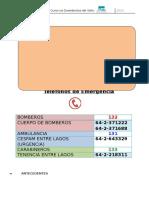 Plan de Emergencia y Evacuación 2016