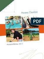 Access Darebin Autumn-Winter 2013