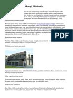 Tips Model Rumah Mungil Minimalis
