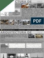 Conclusiones Arquitectura de Hierro