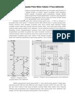 Pengaturan Kecepatan Putar Motor Induksi 3 Fasa