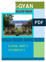 2nd Issue E-gyan, October-2013