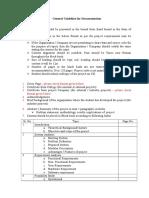 Guideline for documentation.doc