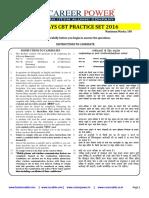 Railways Practice Set 1 2016
