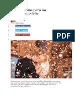 20 Preguntas Para Un Matrimonio Feliz