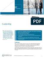Leadership Program Brochure