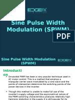 About Sine Pulse Width Modulation