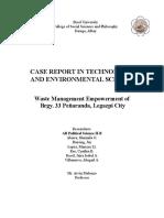 Brgy.33 Peñemmaranda Case Report (1)