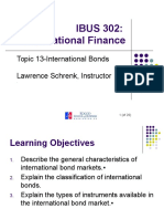 IBUS 302 Topic 13-International Bonds