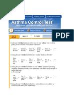 Asma Control Test