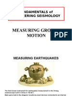 Fundamental of Engineering Seismology