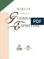 Biblia Sampler Sec