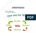 Que Son Los Wikis .. Microsft Word