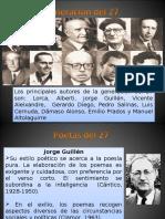 Poetas Generación Del 27