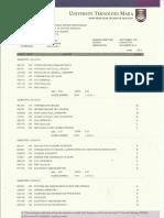 Official Transcript UITM Page 1