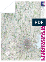London Birmingham High Quality Map