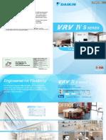 Catalogue Daikin VRV IV S
