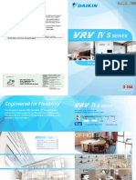 Catalogue Daikin VRV IV S