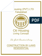 Citi Housing By Laws Faislabad