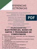 REFERENCIAS ELECTRÓNICAS 1