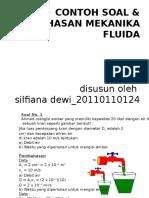 Contoh Soal Pembahasan Mekanika Fluida