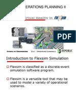A Virtual Reality in Flexsim